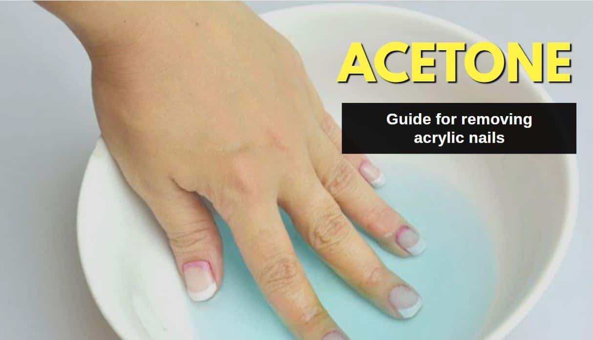 How to Remove Acrylic Nails with Acetone