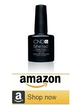 CND shellac nail polish acrylic nails