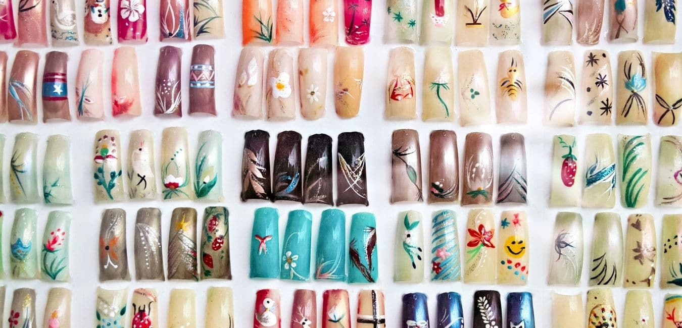 Different Acrylic Nail Shapes