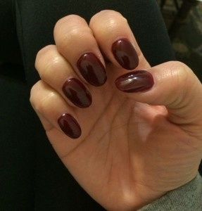 Round Shaped Acrylic Nails