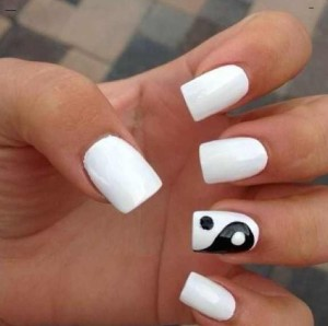 square shaped acrylic nails